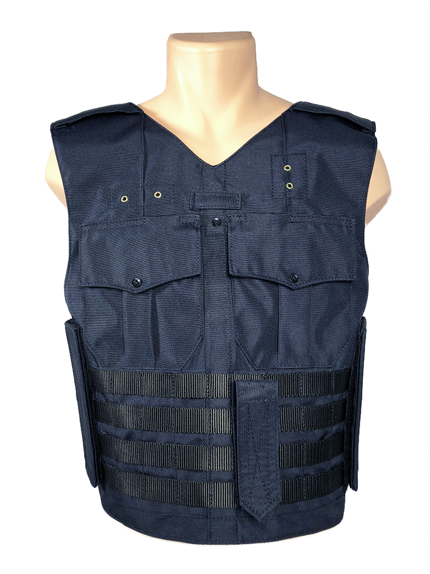 front facing vest molle bottom