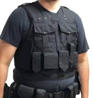 Dark Blue Load Bearing Vest Carrier