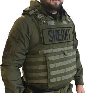 Extreme Measures Green Level 3A Bulletproof Vest