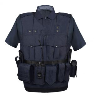 Dark Blue Vest Smaller Size with uniform shirt 300x100000