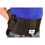 Backbrace Belly Band Holster with Built-in Gun and Phone Holster