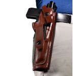 Leather Ruger Mark 22 Holster with Mag Pouch - Fits MK I, II, III, IV