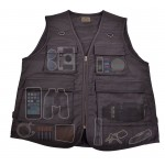 On-the-Road Travel Vest For Photography, Travel, Hiking - Black