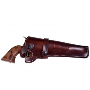 Wild Bill Leather Revolver Holster - Fits 4