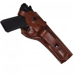 Leather Ruger Mark 22 Holster with Magazine Pouch - Fits MK I, II, III, IV